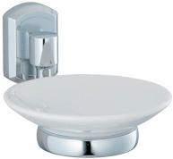 Подробнее о Мыльница Wasserkraft Oder K-3000 K-3029С подвесная хром/керамика белая