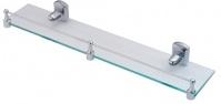 Подробнее о Полка Wasserkraft Oder K-3000 K-3044 стеклянная 50 см хром/стекло матовое