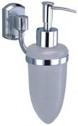 Подробнее о Дозатор для мыла Wasserkraft Oder K-3000 K-3099 подвесной хром/стекло матовое