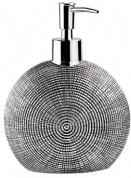 Подробнее о Дозатор для мыла Wasserkraft Eider K-33300 K-33399 настольный цвет серебристый