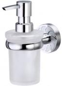 Подробнее о Дозатор для мыла Wasserkraft Isen K-4000 K-4099 подвесной хром/стекло матовое