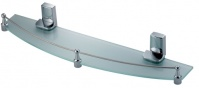 Подробнее о Полка Wasserkraft Leine K-5000 K-5024 стеклянная 50 см хром/стекло матовое