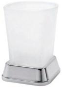 Подробнее о Стакан Wasserkraft Amper K-5400 K-5428 настольный хром /стекло матовое