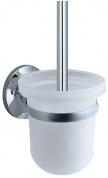 Подробнее о Ершик для туалета Wasserkraft Rhein K-6200 K-6227 подвесной хром/стекло матовое