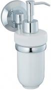 Подробнее о Дозатор для мыла Wasserkraft Rhein K-6200  K-6299C подвесной хром/керамика белая