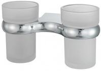 Подробнее о Стакан Wasserkraft Berkel K-6800 K-6828D подвесной двойной хром/стекло матовое