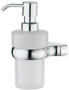 Подробнее о Дозатор для мыла Wasserkraft Berkel K-6800 K-6899 подвесной хром/стекло матовое