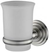 Подробнее о Стакан Wasserkraft Ammer K-7000 K-7028 подвесной хром матовый /стекло прозрачное