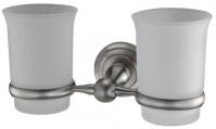 Подробнее о Стакан Wasserkraft Ammer K-7000 K-7028D подвесной двойной хром матовый /стекло матовое