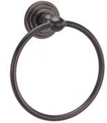 Подробнее о Полотенцедержатель Wasserkraft Isar K-7300  K-7360 кольцо бронза темная