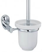 Подробнее о Ершик для туалета Wasserkraft Main K-9200  K-9227C подвесной хром/керамика белая