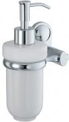 Подробнее о Дозатор для мыла Wasserkraft Main K-9200 K-9299C подвесной хром/керамика белая