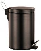 Подробнее о Ведро для мусора Wasserkraft Isar K-655 с педалью 5 литров темная бронза