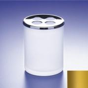 Подробнее о Стакан для зубных щеток Windisch Addition Matt 83125MO золото