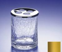 Подробнее о Стакан для зубных щеток Windisch Addition Craquele 83125О золото