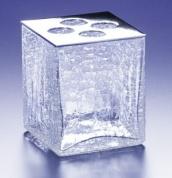 Подробнее о Стакан для зубных щеток Windisch Box Craquele 83128SNI никель сатинированный