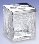 Подробнее о Стакан для зубных щеток Windisch Box Craquele 83148CR хром