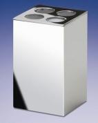 Подробнее о Стакан для зубных щеток Windisch Box Metal Lineal 83305CR хром