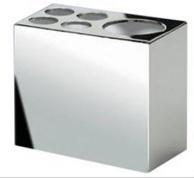 Подробнее о Стакан Windisch Box Metal Lineal 83418CR настольный 6 х h 9 см хром