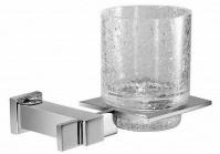 Подробнее о Стакан Windisch Box Metal 852163CR подвесной хром/стекло `кракле`