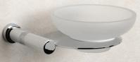 Подробнее о Мыльница Windisch Cylinder Ribbed  85357CR настенная хром Swarovski /стекло матовое