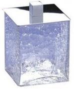 Подробнее о Контейнер большой Windisch Box Craquele 88129CR настольный стекло `кракле` / хром