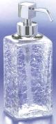 Подробнее о Дозатор для жидкого мыла Windisch Box Craquele 90412CR настольный стекло `кракле` / хром