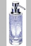Подробнее о Дозатор для жидкого мыла Windisch Addition Craquele 90414CR настольный стекло `кракле` / хром