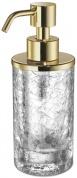 Подробнее о Дозатор для жидкого мыла Windisch Mini 90461CR настольный стекло `кракле` / хром