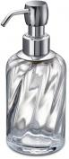 Подробнее о Дозатор для жидкого мыла Windisch Spiral 90801CR настольный стекло витое прозрачное / хром