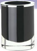 Подробнее о Стакан Windisch Fashion&Variety 91166NCR настольный хром /стекло черное