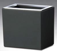 Подробнее о Стакан Windisch Box Lineal Crystal Matt 91318MCR настольный хром /стекло матовое белое