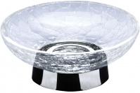 Подробнее о Мыльница Windisch Addition Craquele 92131CR настольная стекло `кракле` / хром