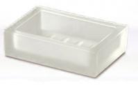 Подробнее о Мыльница Windisch Box Lineal Crystal Matt  92173M настольный стекло матовое белое