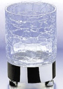 Подробнее о Стакан Windisch Addition Craquele 94118CR на подставке стекло `кракле` / хром