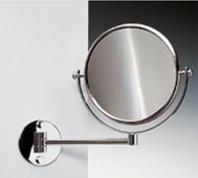 Подробнее о Зеркало косметическое Windisch 99139CR настенное (3Х) хром