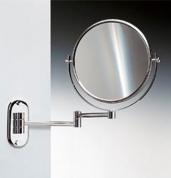Подробнее о Зеркало косметическое Windisch 99147CR настенное (2X) хром