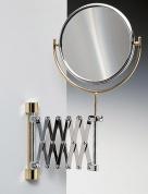 Подробнее о Зеркало косметическое Windisch 99148CR настенное (3Х) хром