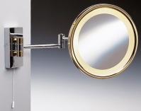 Подробнее о Зеркало косметическое Windisch 991509CR с подсветкой (D) (2XD) хром