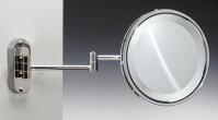 Подробнее о Зеркало косметическое Windisch 99180CR с подсветкой (белый свет) (2X) хром