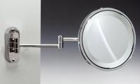 Подробнее о Зеркало косметическое Windisch 99180CR с подсветкой (белый свет) (2XD) хром