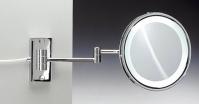 Подробнее о Зеркало косметическое Windisch 99187CR с флуоресцентной подсветкой (белый свет) (2X) хром