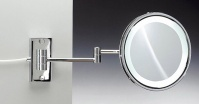 Подробнее о Зеркало косметическое Windisch 99187CR с флуоресцентной подсветкой (белый свет) (2XD) хром
