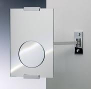 Подробнее о Зеркало косметическое Windisch 99217CR настенное (3Х) хром