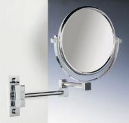 Подробнее о Зеркало косметическое Windisch 99245CR настенное (2X) хром