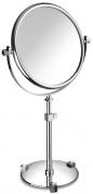 Подробнее о Зеркало косметическое Windisch Moonlight 99526CRB 2X настольное (3Х) хром / кристаллы белые