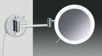 Подробнее о Зеркало косметическое Windisch 99650/2CR с LED (диодной) подсветкой (3X) хром