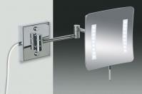 Подробнее о Зеркало косметическое Windisch 99657/2CR с LED (диодной) подсветкой (3X) хром