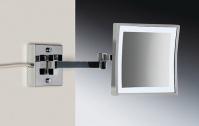 Подробнее о Зеркало косметическое Windisch 99667/2CR с LED (диодной) подсветкой (3X) хром