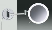Подробнее о Зеркало косметическое Windisch 99850/2CR с LED (диодной) подсветкой сенсорное (3X) хром